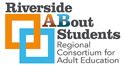 Riverside ABout Students – Regional Consortium on Adult Education Logo